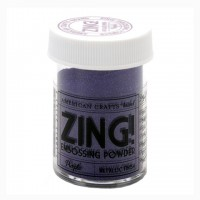Пудра для эмбоссинга ZING! Purple metallic