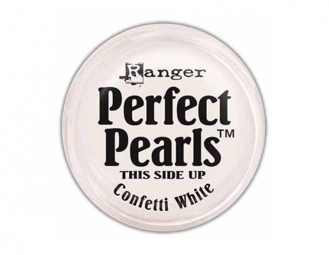 Пудра перламутровая  Perfect Pearls от Ranger (Confetti White)