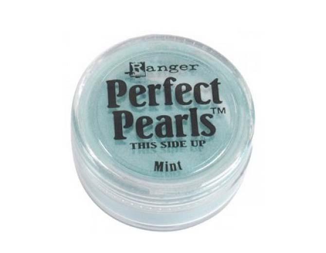 Пудра перламутровая  Perfect Pearls от Ranger (Mint)