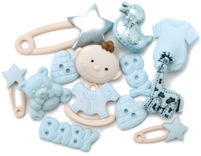 Набор декоративных пуговиц Малыши