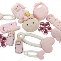 Набор декоративных пуговиц Малышка