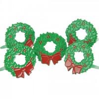 Набор брадс Новогодние венки от EyeLet OutLet