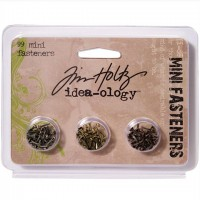 Набор брадс Idea-Ology Screw-Top Mini Fasteners от Tim Holtz