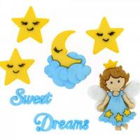 Набор декоративных пуговиц Сладких снов