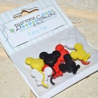 Набор декоративных пуговиц Мышки-шарики