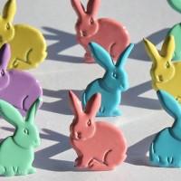 Набор брадс Кролики пастель от EyeLet OutLet