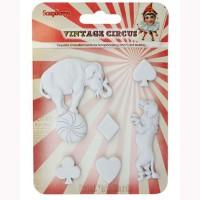 Набор декоративных фигурок Старый цирк Представление
