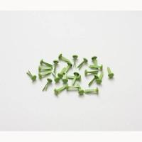 Набор брадс 25 шт зеленые