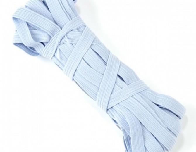 Резинка для блокнотов (светло-голубой) 8мм