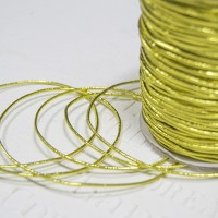 Резинка для альбомов (золото) 1,5мм (2 м)