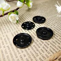 Кнопка пришивная 2,5 см(черные)