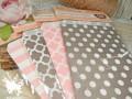 Бумажные пакеты Горох розовые