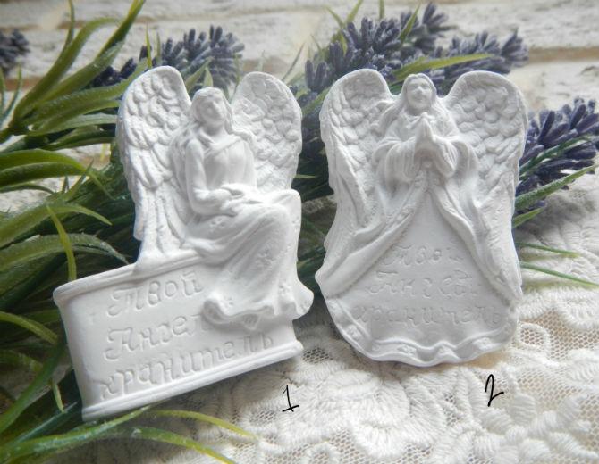 Декоративный элемент Ангел-хранитель гипс