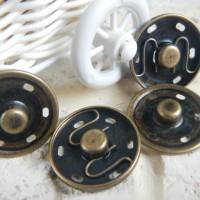 Кнопка пришивная 2,5 см(бронза)