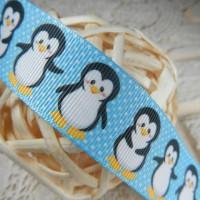 Лента репсовая Пингвины