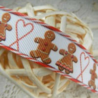 Лента репсовая Имбирное печенье