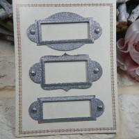 Рамки металлические для скрапбукинга