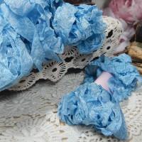 Шебби-лента (голубая)