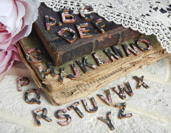 Декоративный алфавит