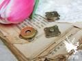 Кнопка магнитная пришивная 14мм