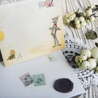"""Набор открыток и конвертов """"Волшебник страны ОЗ"""""""