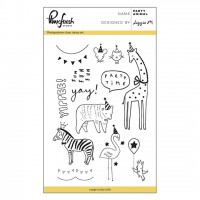 Набор штампов Party Animal Clear Stamp от Pinkfresh Studio