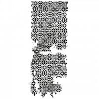 Штамп силиконовый Lattice 13х5 см