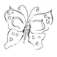 Штамп силиконовый Flutter 6х8 см