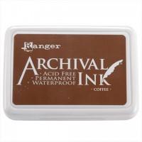 Подушечка штемпельная архивная Archival Ink Pads Coffee от Ranger