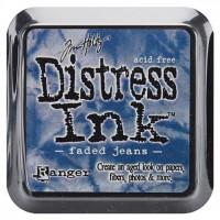 Штемпельная подушечка Tim Holtz Distress, 5х5 см, цвет полинявшие джинсы