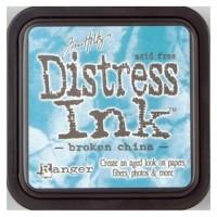 Штемпельная подушечка Tim Holtz Distress, 5х5 см, цвет разбитый фарфор