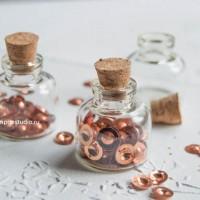 Бутылочки стеклянные 30х30х10мм (3 шт)