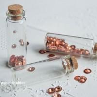 Бутылочки стеклянные 22х65х12,5мм (4 шт)
