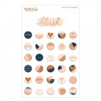Стикеры Puffy Stickers BLUSH от My Mind's Eye