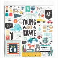 Чипборд Cool Kid от Crate Paper