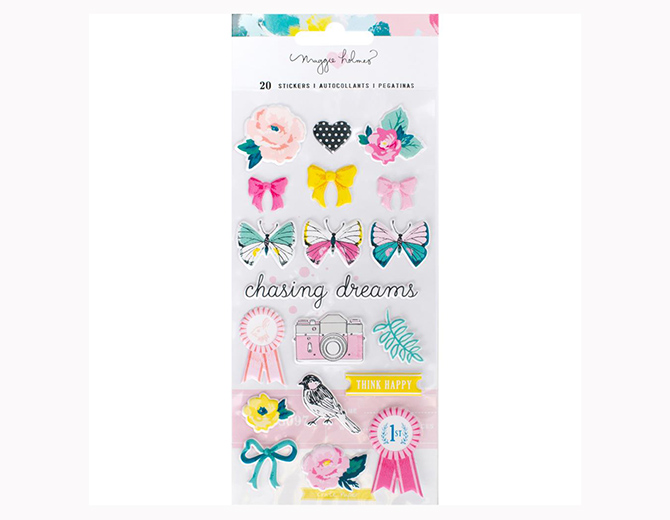 Стикеры Icons Chasing Dreams Puffy Stickers от Maggie Holmes