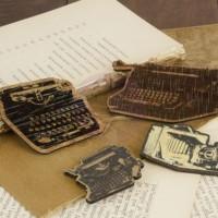 Деревянные украшения Печатные машинки by Prima