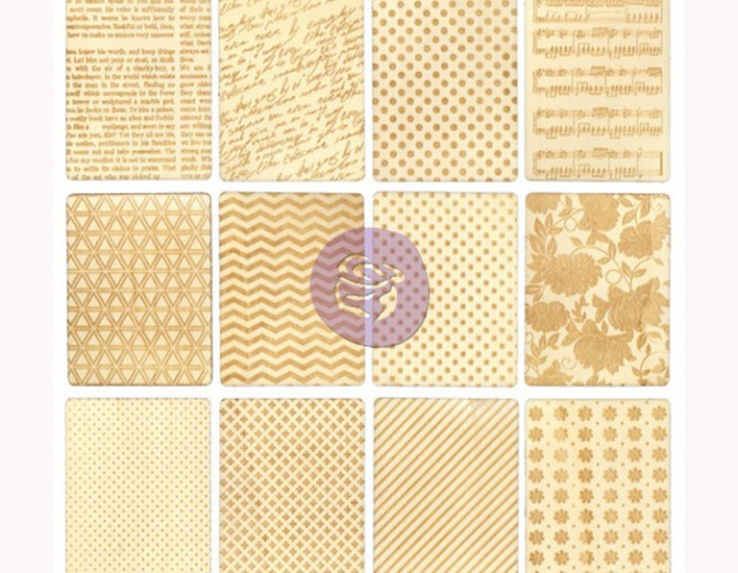 Деревянные карточки Lovely Prints by Prima
