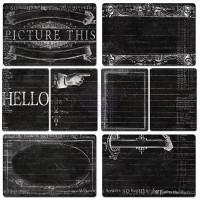 Карточки Chalkboard 16 шт Everyday Vintage