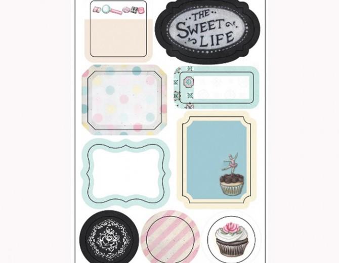 Вырубные формы Sweet life 9шт
