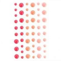 Эмалевые точки (дотсы) персиковые