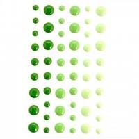 Эмалевые точки (дотсы) зеленые