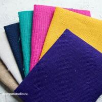 Отрез ткани РОГОЖКА (100% лен) 50х50см
