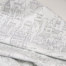 Американский хлопок Castle Plans(white) MAGIC by Sarah Jane