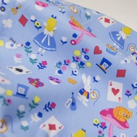 Американский хлопок Alice(blue) Timeless Treasures Fabrics of SoHo