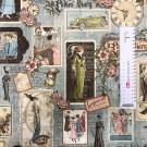 Ткань американский хлопок A Ladies' Diary 65*55