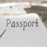 Надпись из термотрансферной пленки PASSPORT 1