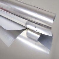 Пленка термотрансферная металлик (серебро) 25х25 см