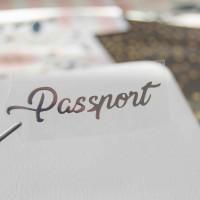 Надпись из термотрансферной пленки PASSPORT 6