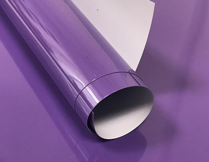 Пленка термотрансферная матовая (пурпурная)